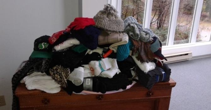 Sock Mountain Serves to Keep Feet Warm image